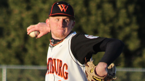 Brad Watson went 10-4 with a 2.07 ERA as a senior at Wartburg College.