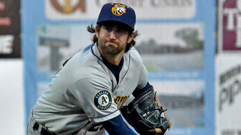Drew Granier has a 0.95 ERA in four starts against Beloit this year.