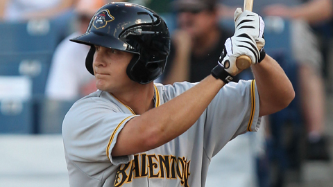 Alex Dickerson leads the Florida State League with 72 RBIs.