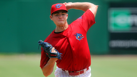 Jesse Biddle is 4-1 with a 1.95 ERA in his five August starts.